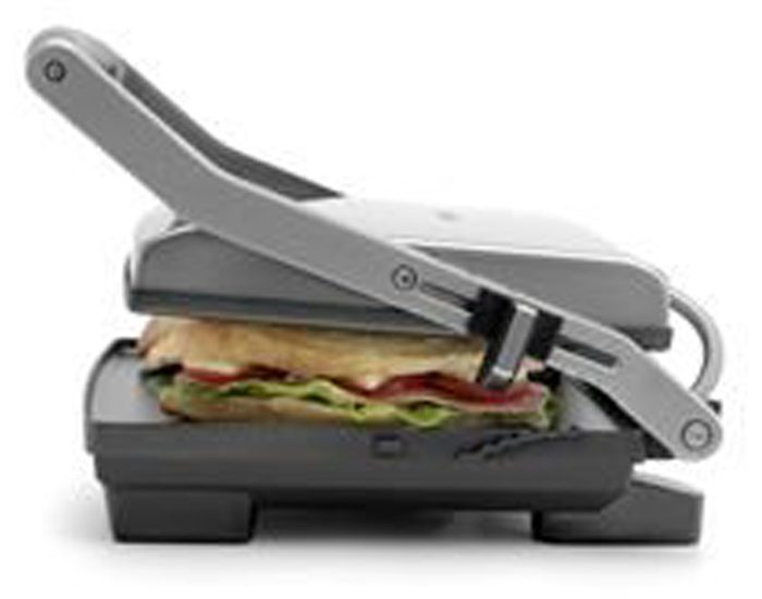 Breville BSG520BSS 2000W ikon™ 2 Slice Sandwich Press