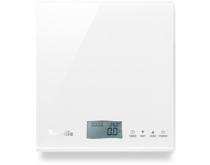 Breville BSK200WHT 5kg the Multi Measure™ White Food Scale