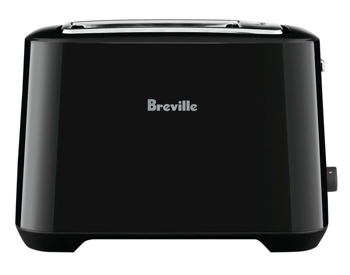 Breville BTA360BKS 2 Slice the 'Lift & Look'™ Plus Toaster - Black Sesame