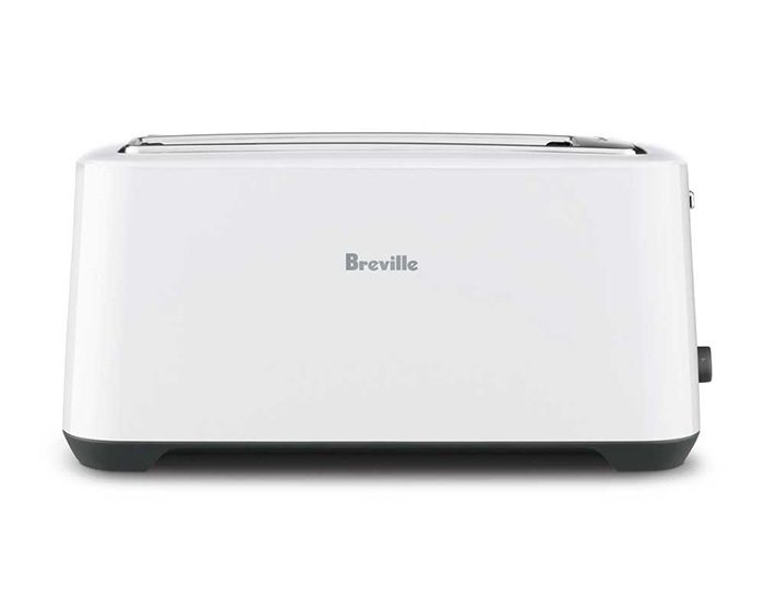 Breville BTA380WHT 4 Slice the 'Lift & Look'™ Plus Toaster - White