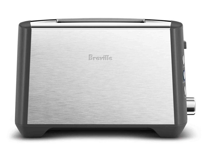 Breville BTA435BSS 2 Slice the 'Bit More' Plus Toaster - Brushed Stainless
