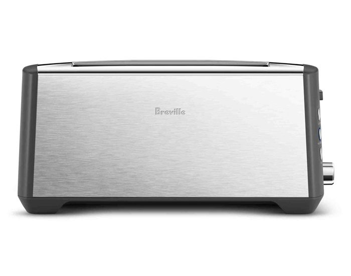 Breville BTA440BSS 4 Slice the 'Bit More' Plus Toaster - Brushed Stainless