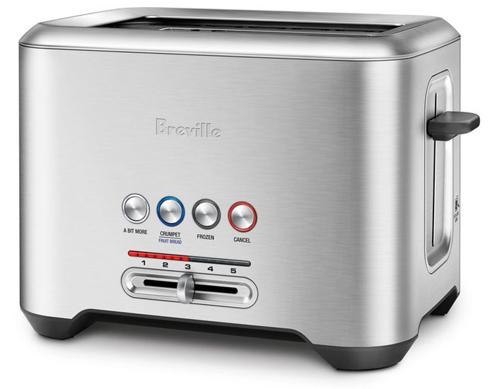 Breville BTA720BSS 2 Slice the 'Lift & Look'™ Toaster - White