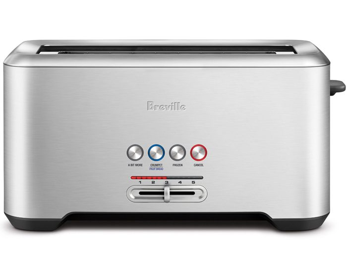Breville BTA730BSS 4 Slice the 'Lift & Look'™ Toaster - White