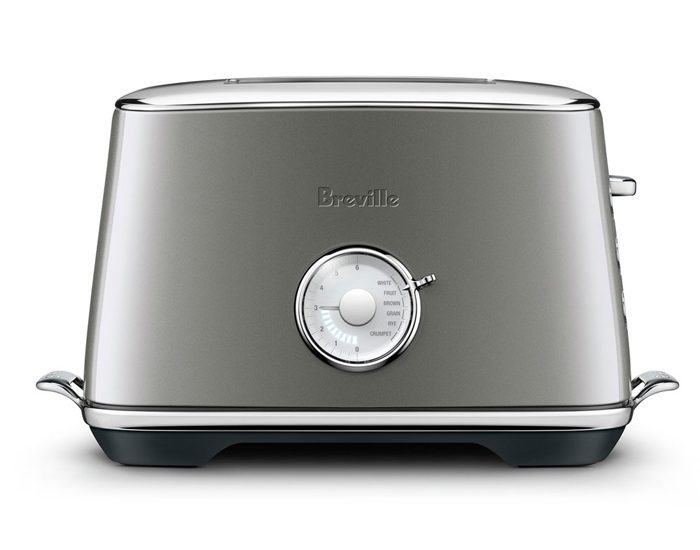 Breville BTA735SHY the Toast Select™ Luxe Toaster - Smoked Hickory