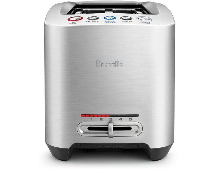 Breville BTA830BSS 4 Slice the Smart Toast Motorised Toaster