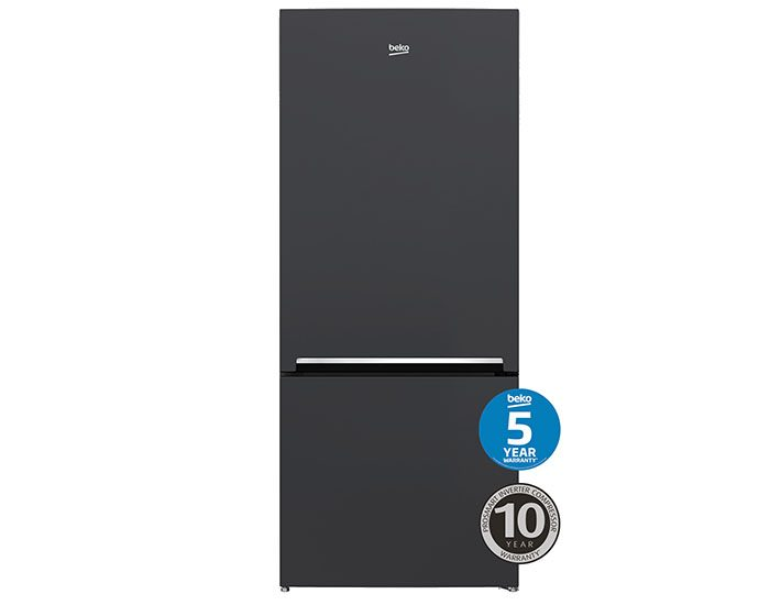 Beko BBM450AN 450L Anthracite Bottom Mount Fridge Main