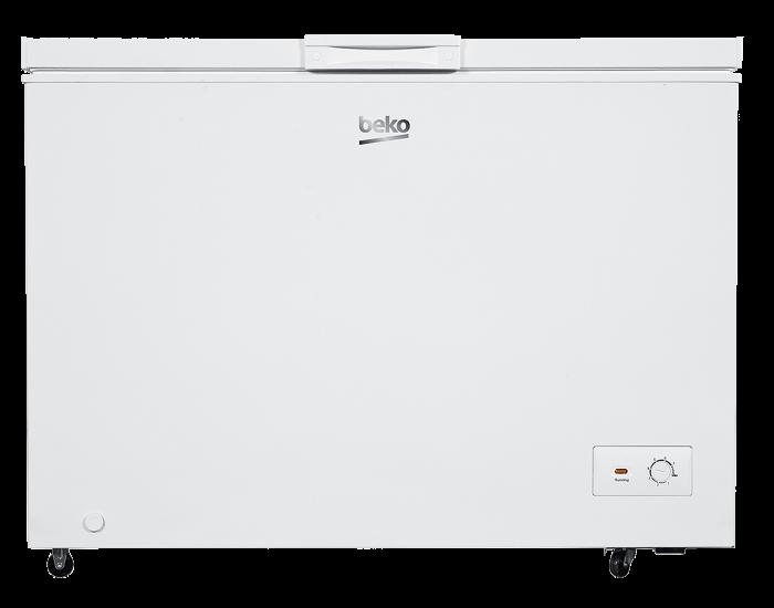 Beko BCF307W 307L Freestanding White Chest Freezer main