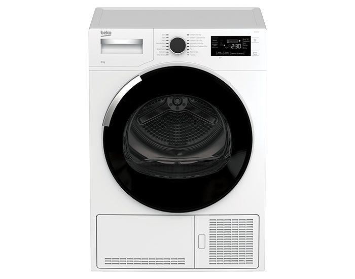 Beko BDC830W 8 KG Sensor Controled Condensor Dryer Front