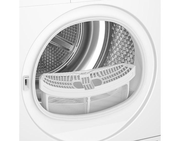 Beko BDP700W 7kg Sensor Controlled Heat Pump Dryer Drum