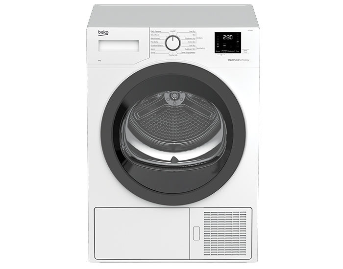 Beko BDP810W 8 Kg Sensor Controlled Heat Pump Dryer Main