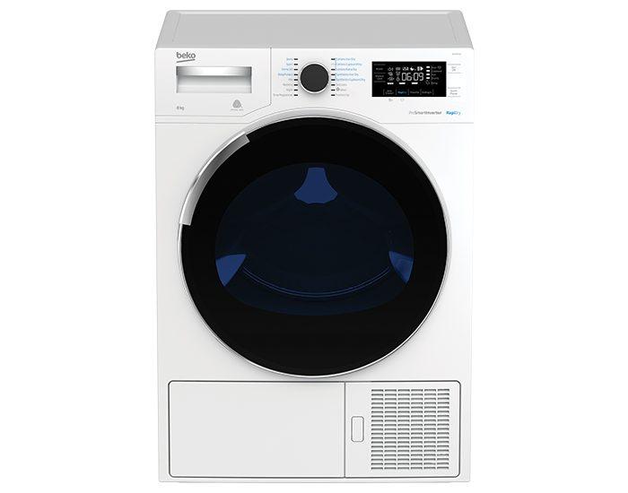 Beko BDP83HW 8kg Sensor Controlled Vented Dryer Front