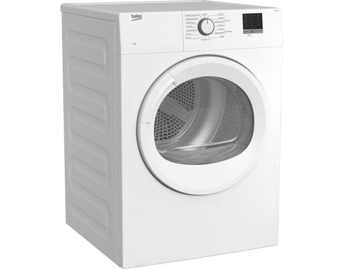 Beko BDV70WG 7kg Air Vented Tumble Dryer diagonal