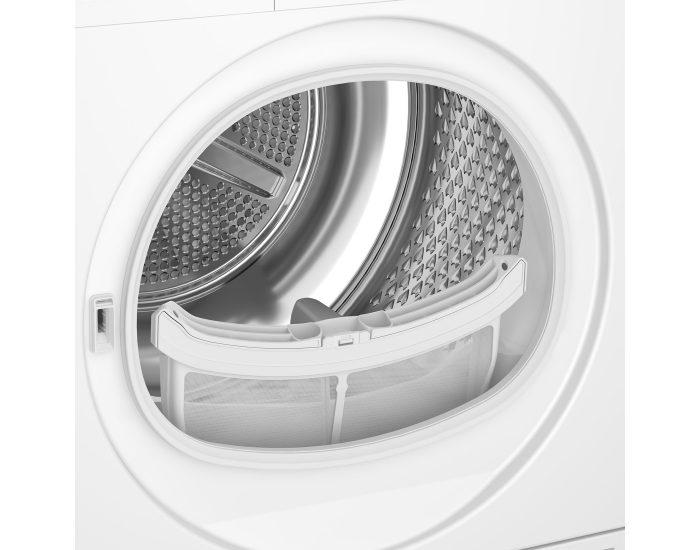 Beko BDV70WG 7kg Air Vented Tumble Dryer inside
