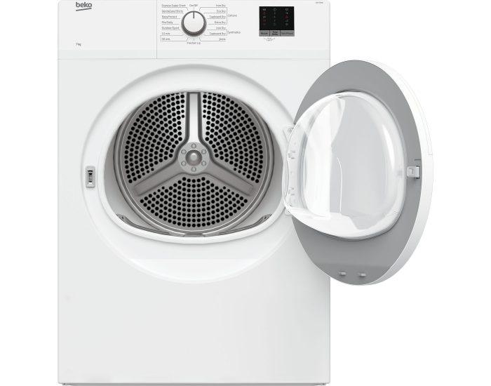 Beko BDV70WG 7kg Air Vented Tumble Dryer open
