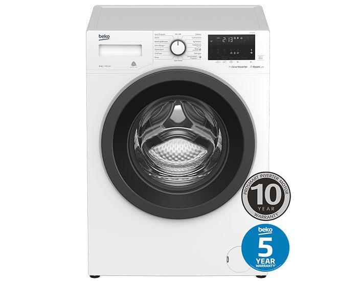 Beko BFL1010W 10 kg Front Loading Washing Machine Main