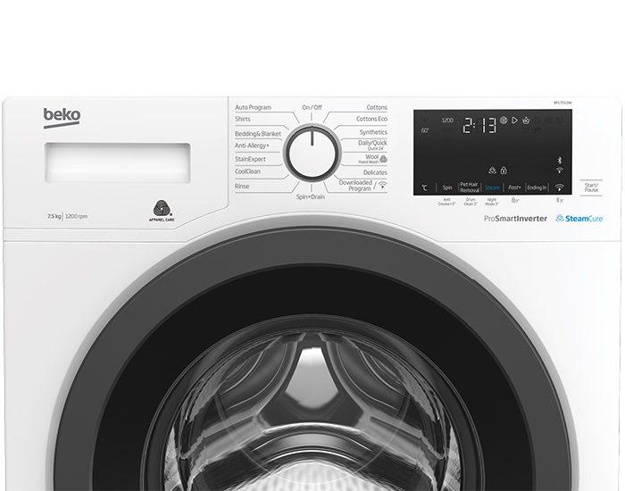 Beko BFL7510W 7.5 kg Front Loading Washing Machine Control Panel