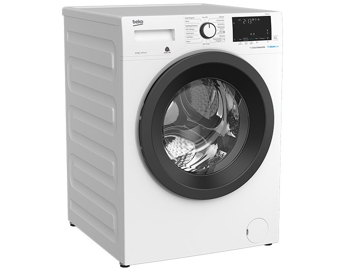 Beko BFL8510W 8.5Kg Front Load Washer Angle