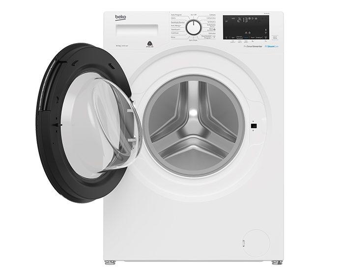 Beko BFL8510W 8.5Kg Front Load Washer Door Open