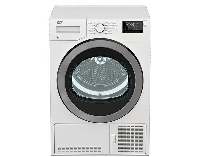 Beko DCY7402GXB2 Condenser Dryer Front