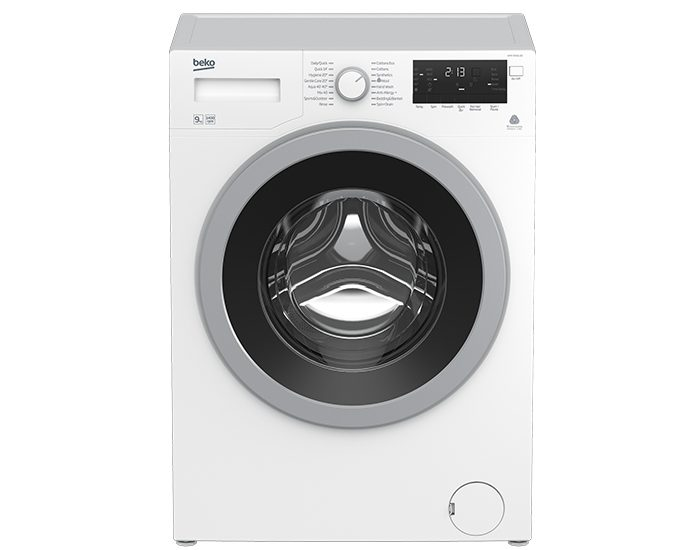 Beko WMY9046LB2 9KG Front Load Washer Front View