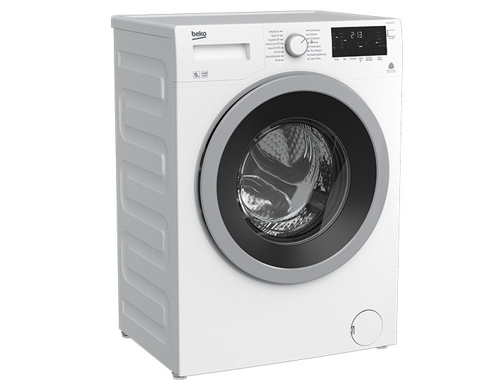 Beko WMY9046LB2 9Kg Front Load Washer Angle