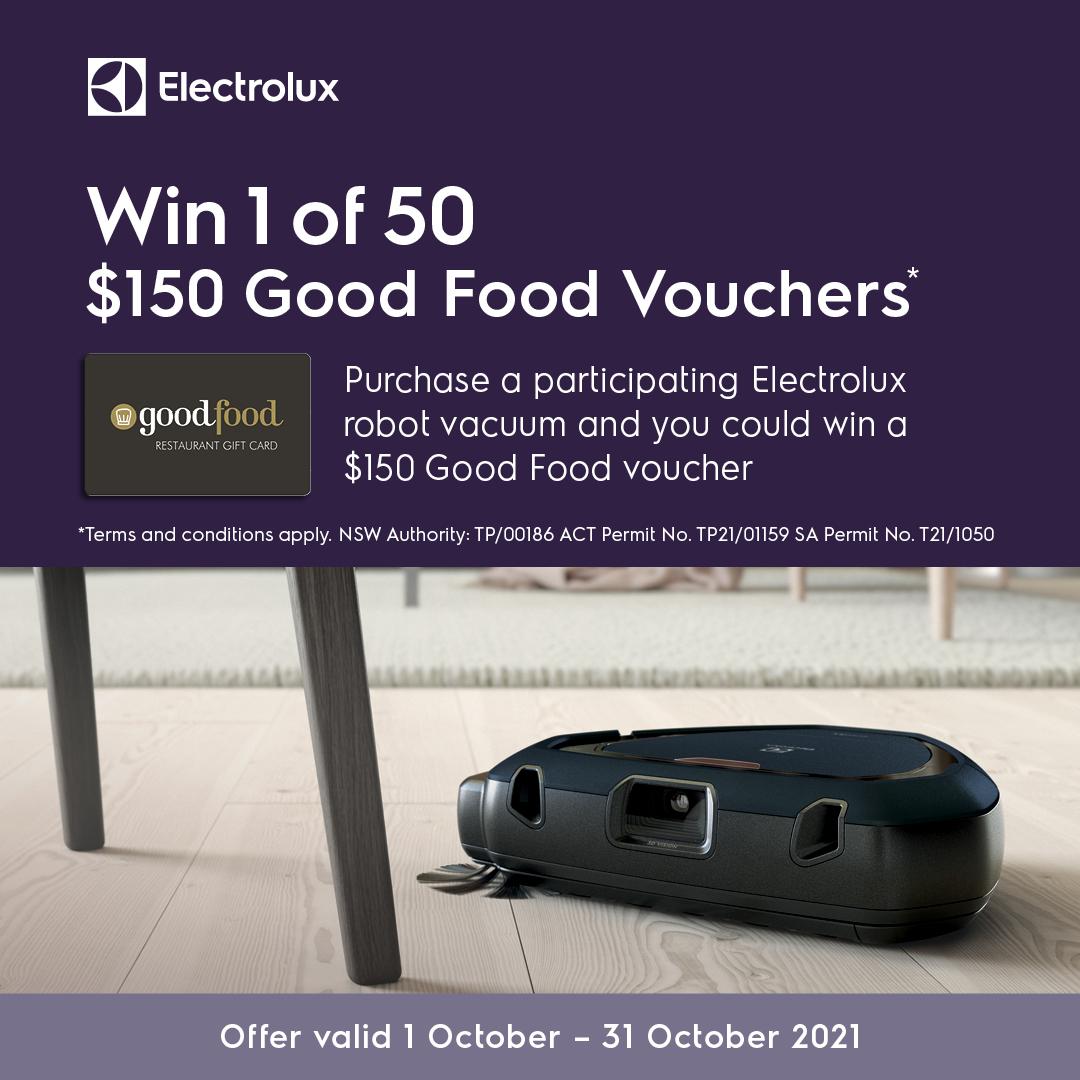 2021 Electrolux Good Food Vouchers Mobile