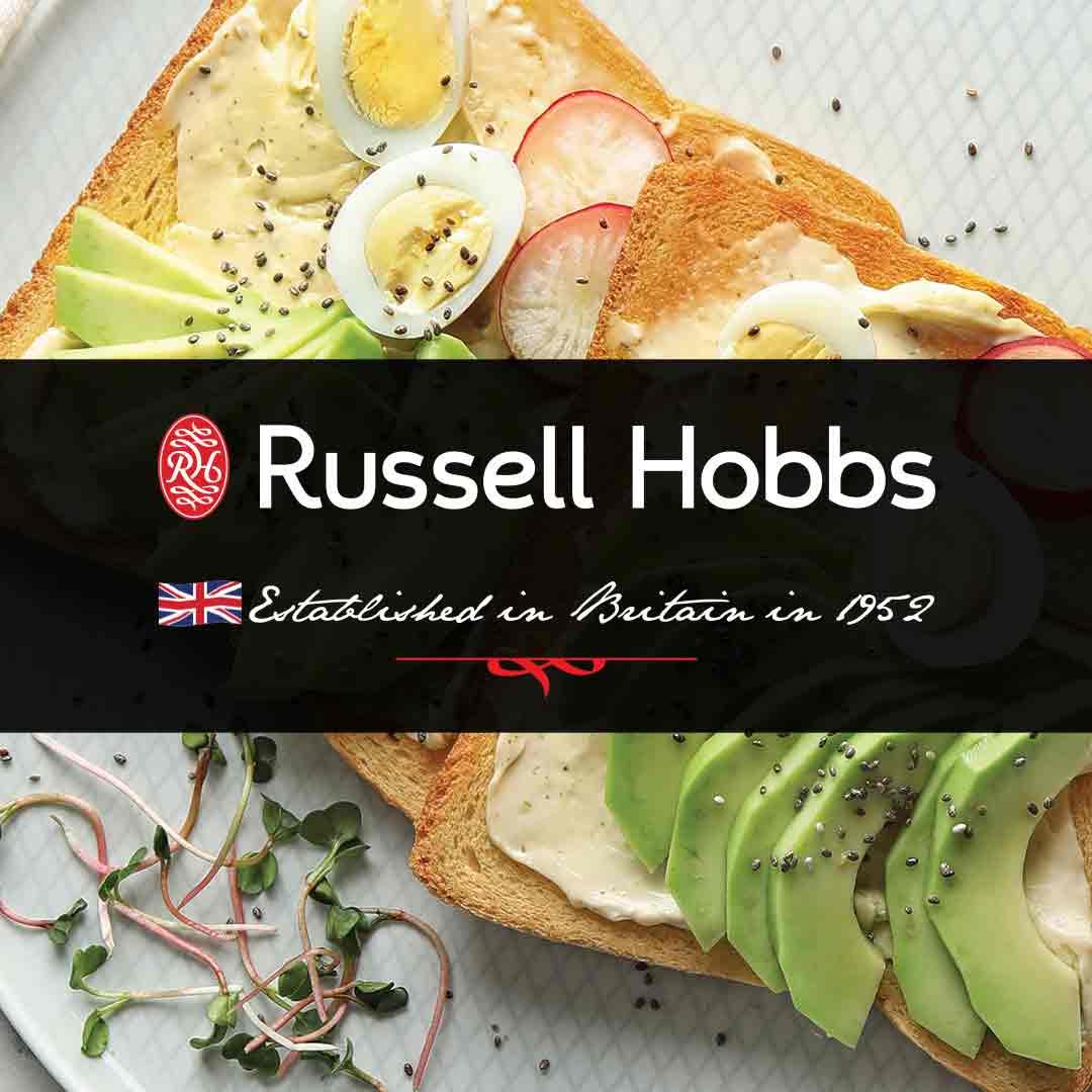 Hussell Hobbs Brand Banner