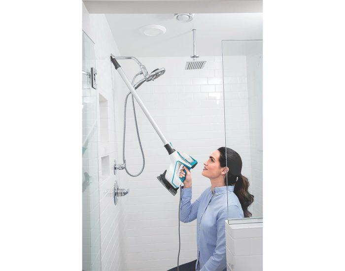 Bissell 2233F Powerfresh Slim Steam Mop Bathroom