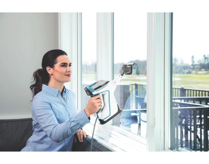 Bissell 2233F Powerfresh Slim Steam Mop Window