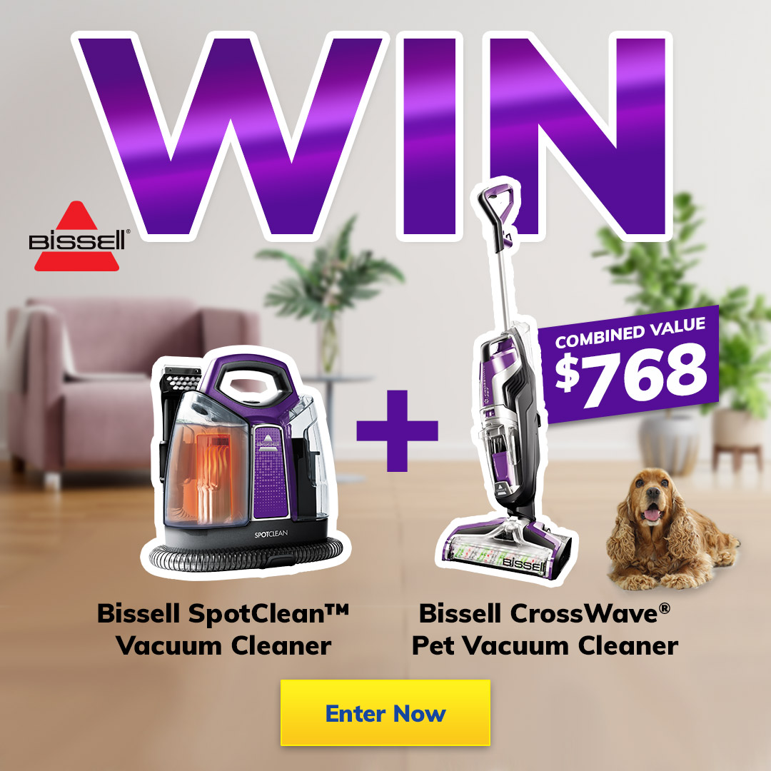 2021 August Giveaway Bissell Vacuums mobile