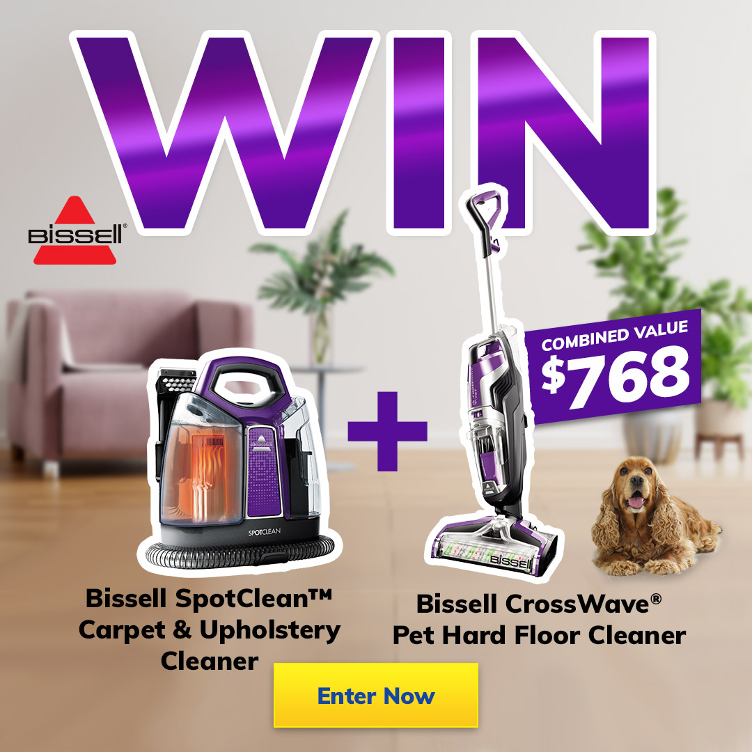 Bissell Giveaway mobile
