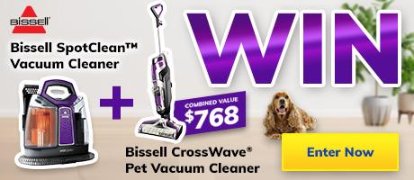 2021 August Giveaway Bissell Vacuums Slider