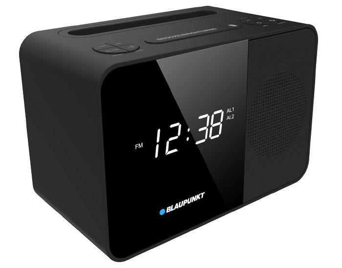 Blaupunkt BAC23BTC FM Alarm Clock Radio Angle