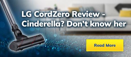 LG CordZero – Cinderella? Don't know her
