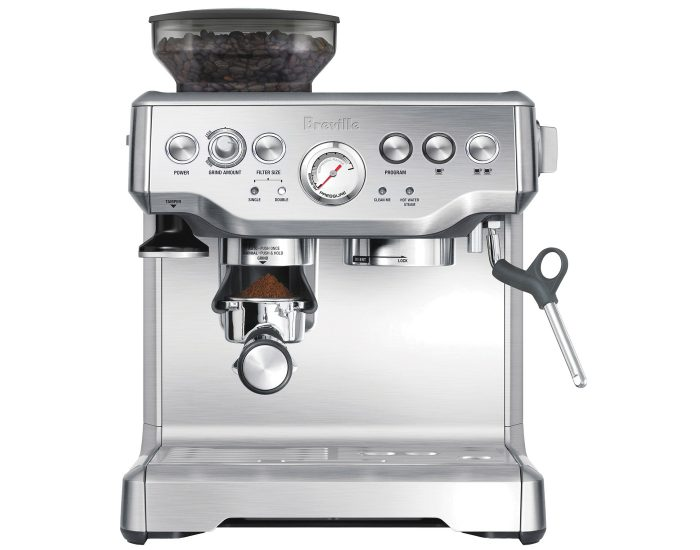 Breville BES870BSS The Barista Express Coffee Machine in Brushed Stainless Main