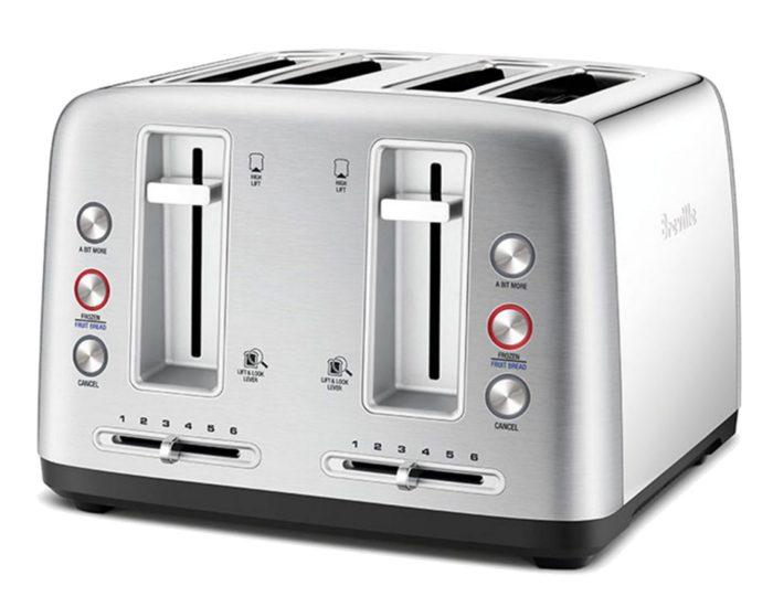 Breville LTA670BSS 4 Slice Stainless Steel Toaster
