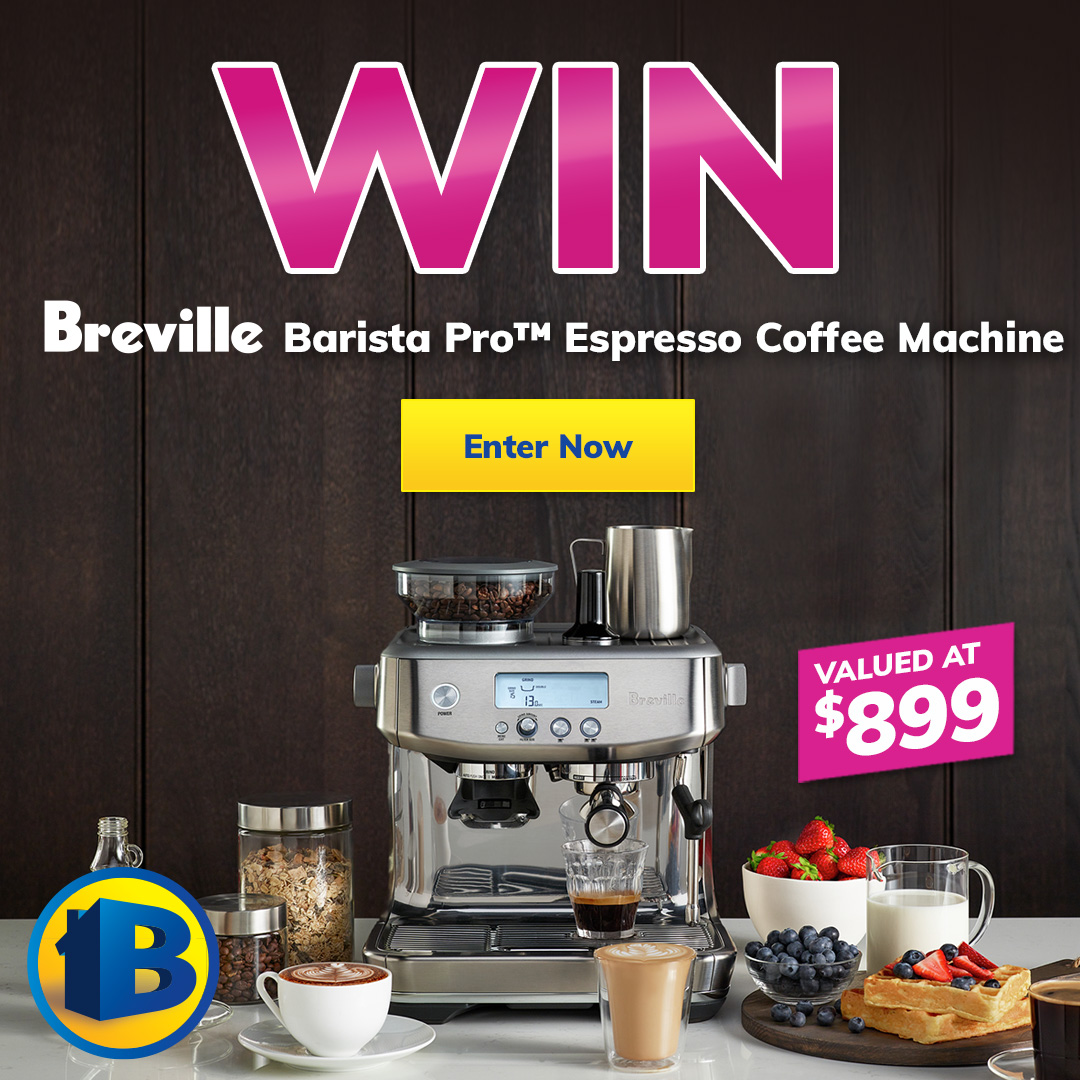2021 June Giveaway Breville Coffee Machine mobile