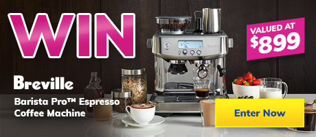 2021 June Giveaway Breville Coffee Machine