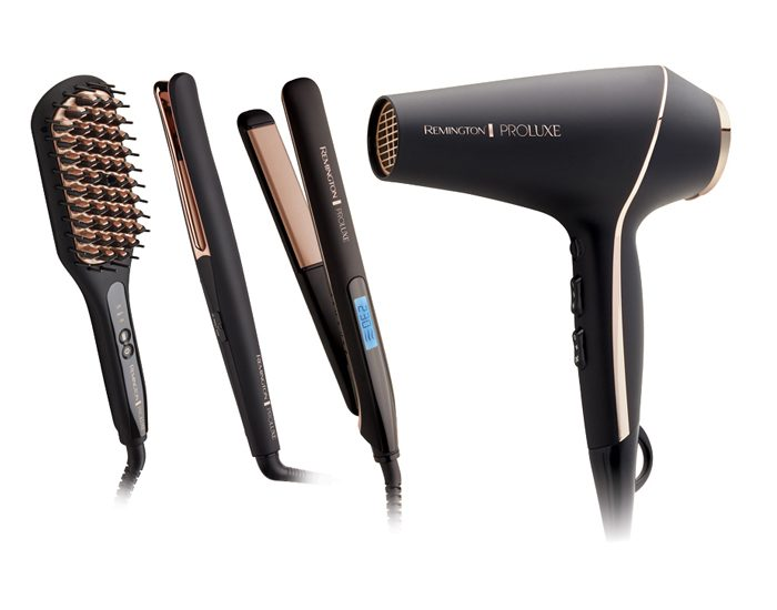 Remington CB7480AU PROLUXE Salon Straightening Brush