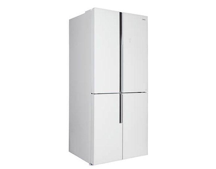 CHiQ CFD461GW 463L White Glass Four Door Fridge