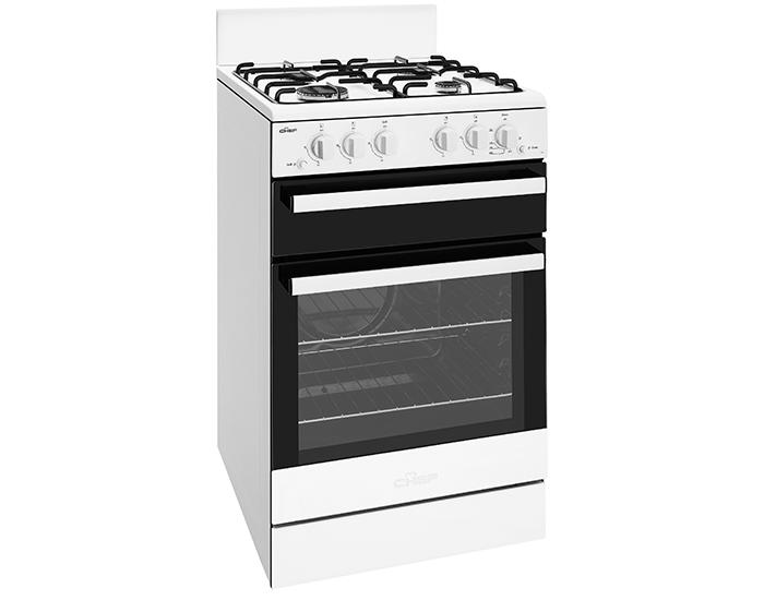 Chef CFG503WBLP 54cm Gas Upright Oven 2