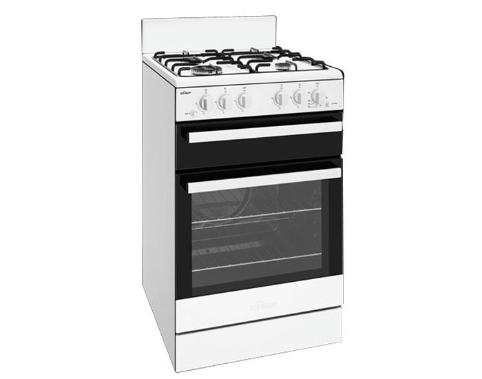 Chef CFG503WBNG 54cm Gas Upright Oven