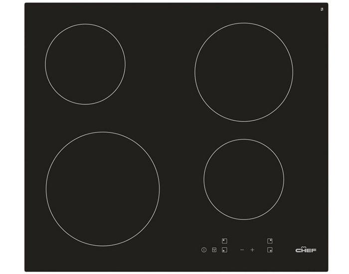 Chef CHC645BA 60cm Ceramic Upright Oven