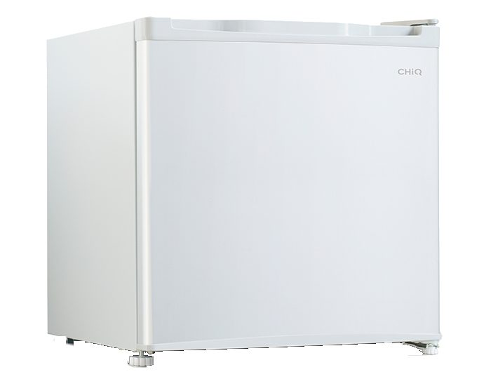 CHIQ CSR047W 47L White Bar Fridge Closed