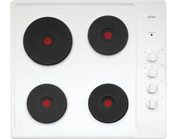 Chef CHS642WA 60cm Solid Element Cooktop