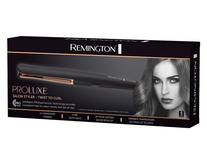 Remington CI41T1AU PROLUXE Salon Styler Twist To Curl