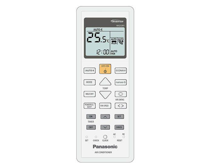 Panasonic CSCUZ60TKR 6.0kw Reverse Cycle Split System Airconditioner ECONAVI