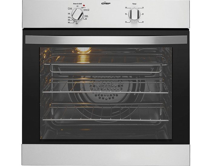 Chef CVE612SA 60cm Stainless Steel Electric Oven