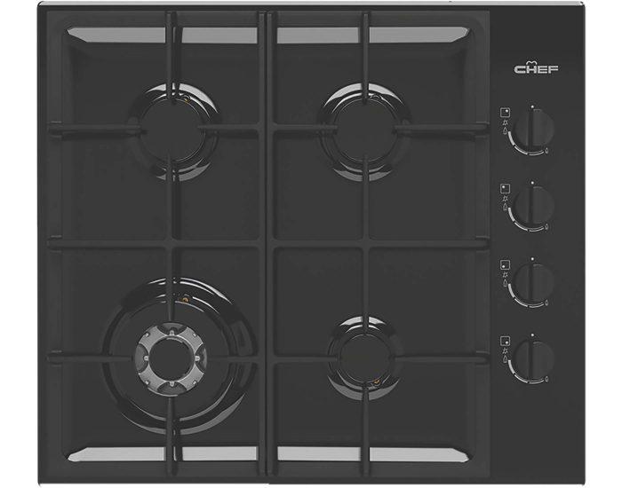 Chef 60cm 4 Burner Gas Cooktop CHG644DC Main